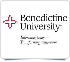 Benedictine University square logo
