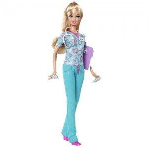 02 Barbie I Can BeGǪ Nurse (2012)