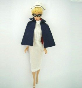 10. Registered Nurse Barbie (1961)