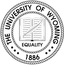 University of Wyoming Online round logo