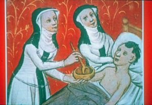 Image result for medieval nurse