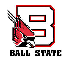 Ball State University square logo