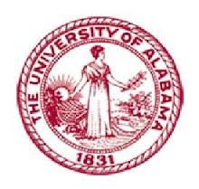 The University of Alabama round logo